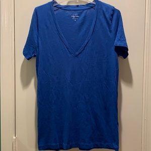 J  Crew V neck T shirt